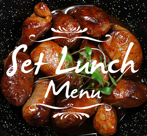 Daily Set Lunch Menu